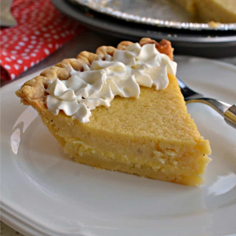 Buttermilk Pie is an easy pie recipe that's perfect for just about any occasion.