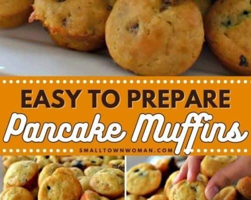 Easy Pancake Muffins