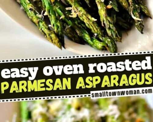 Oven Roasted Garlic and Parmesan Asparagus