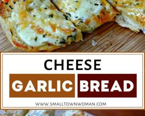 Triple Cheese Bread