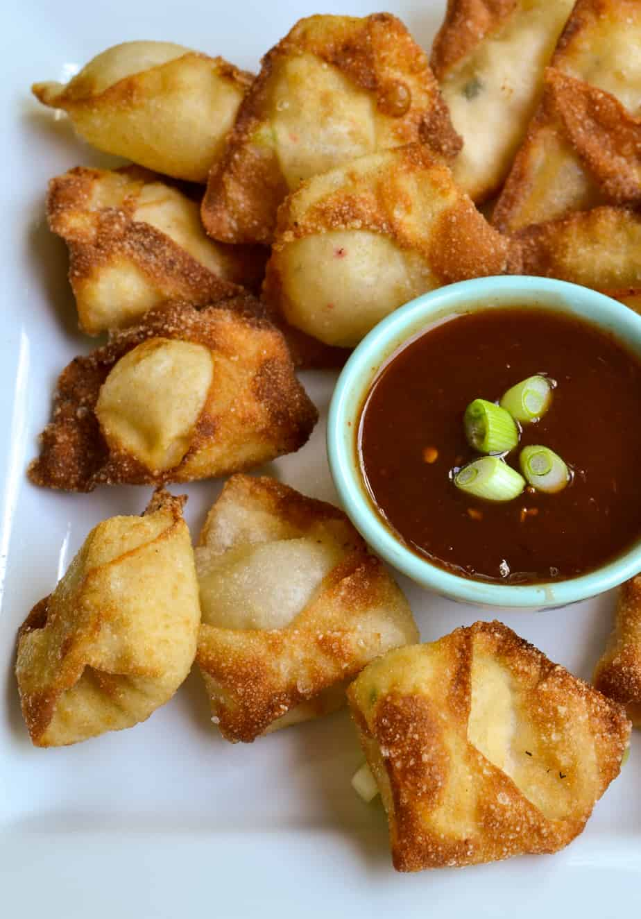 Crab Rangoon are the ultimate party appetizer and always a huge hit with family and friends.