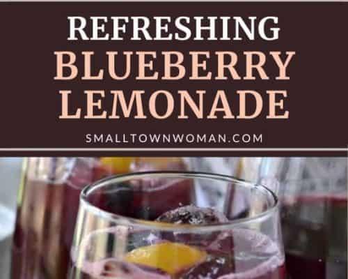 Fresh Blueberry Lemonade