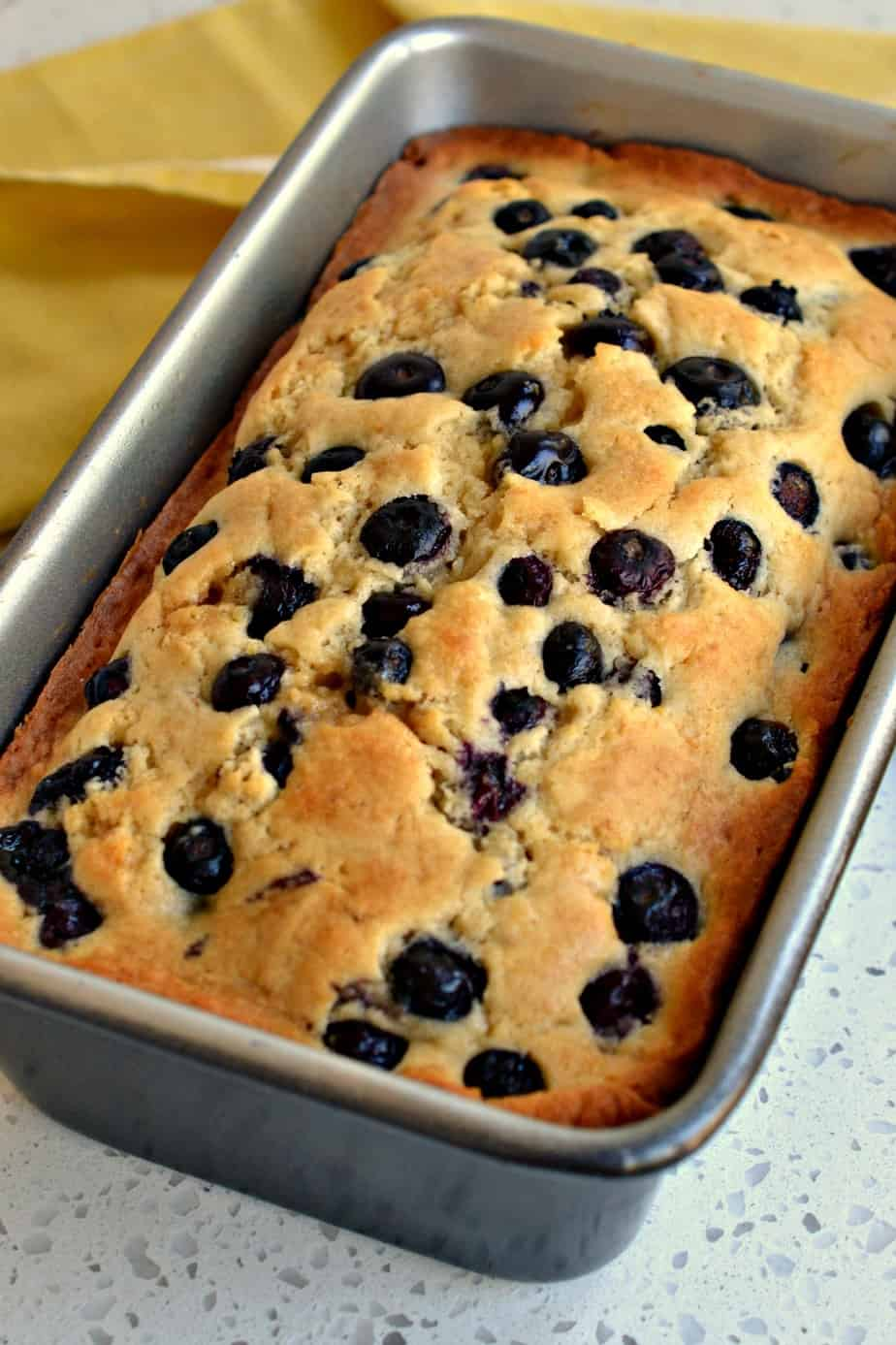 Double this Lemon Blueberry Bread recipe and make an extra loaf for the family later in the week.