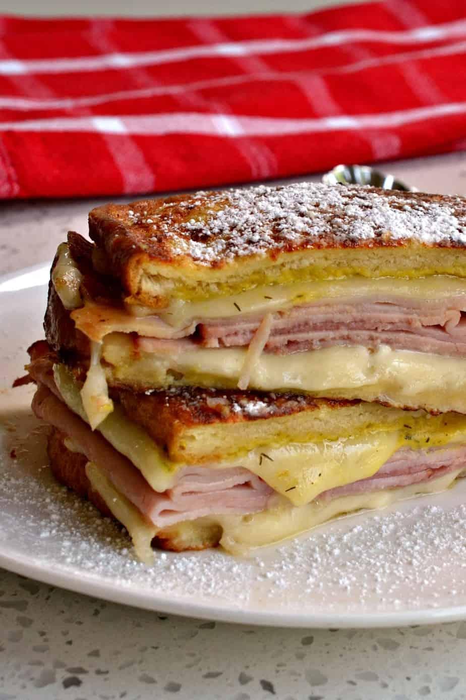 How to make a Monte Cristo Sandwich