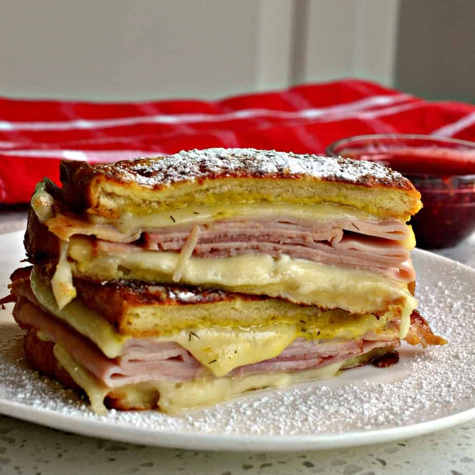 This unique Monte Cristo sandwich is a friend and family favorite.