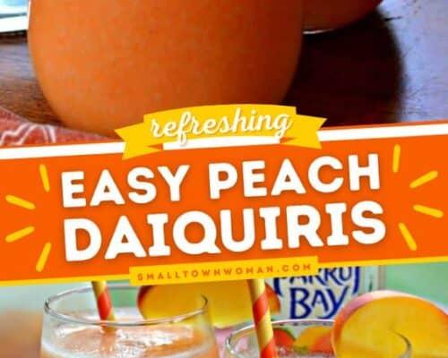 Peach Mango Daiquiri