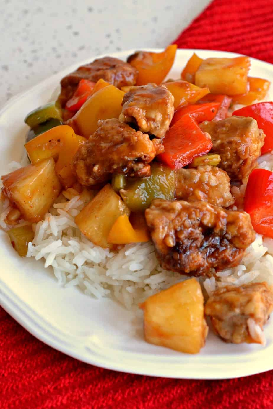 Sweet and Sour Pork is incredibly delicious and with a little planning it comes together quite quickly.