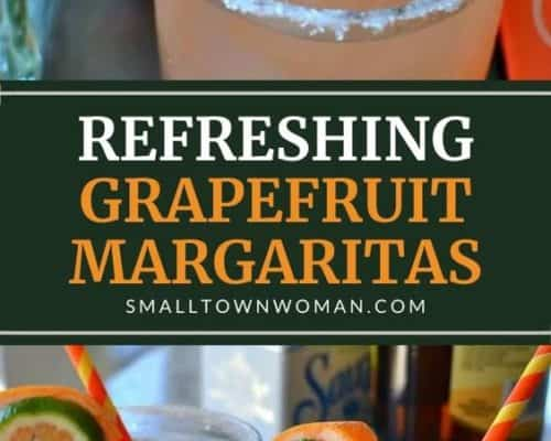 Easy Grapefruit Margarita