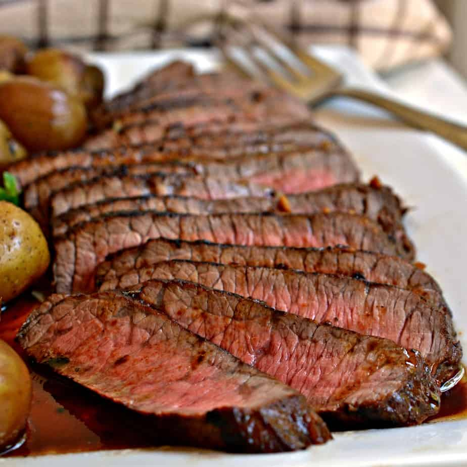 London Broil is a less expensive cut of beef that with a few easy steps can be cooked to tender perfection.