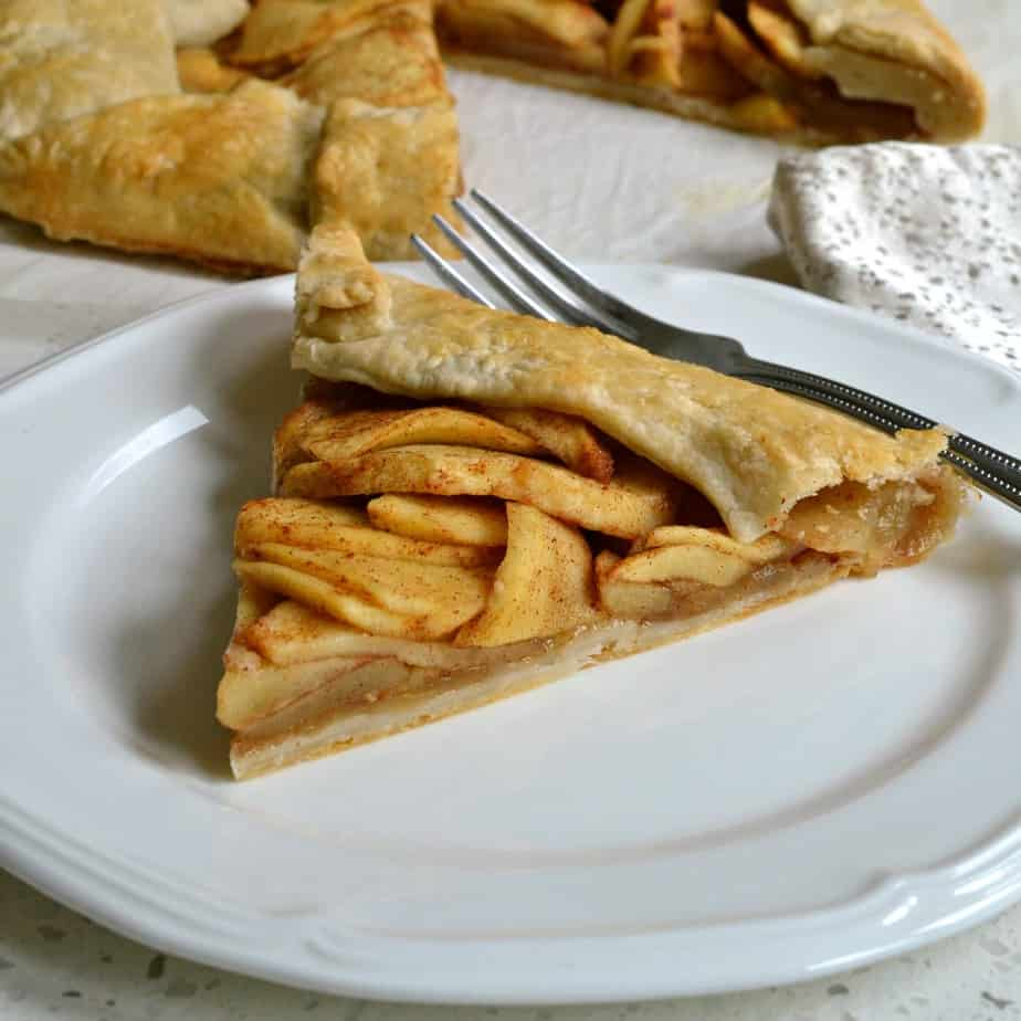 This simple yet elegant Apple Galette has the full flavor and spice of an apple pie with a fraction of the work.
