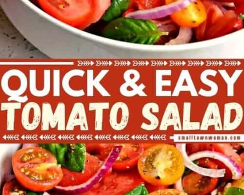 Tomato Salad Pinterest