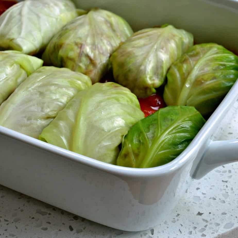 These stuffed Cabbage Rolls are one of our favorite comfort food recipes and perfect for the cold fall and winter months.