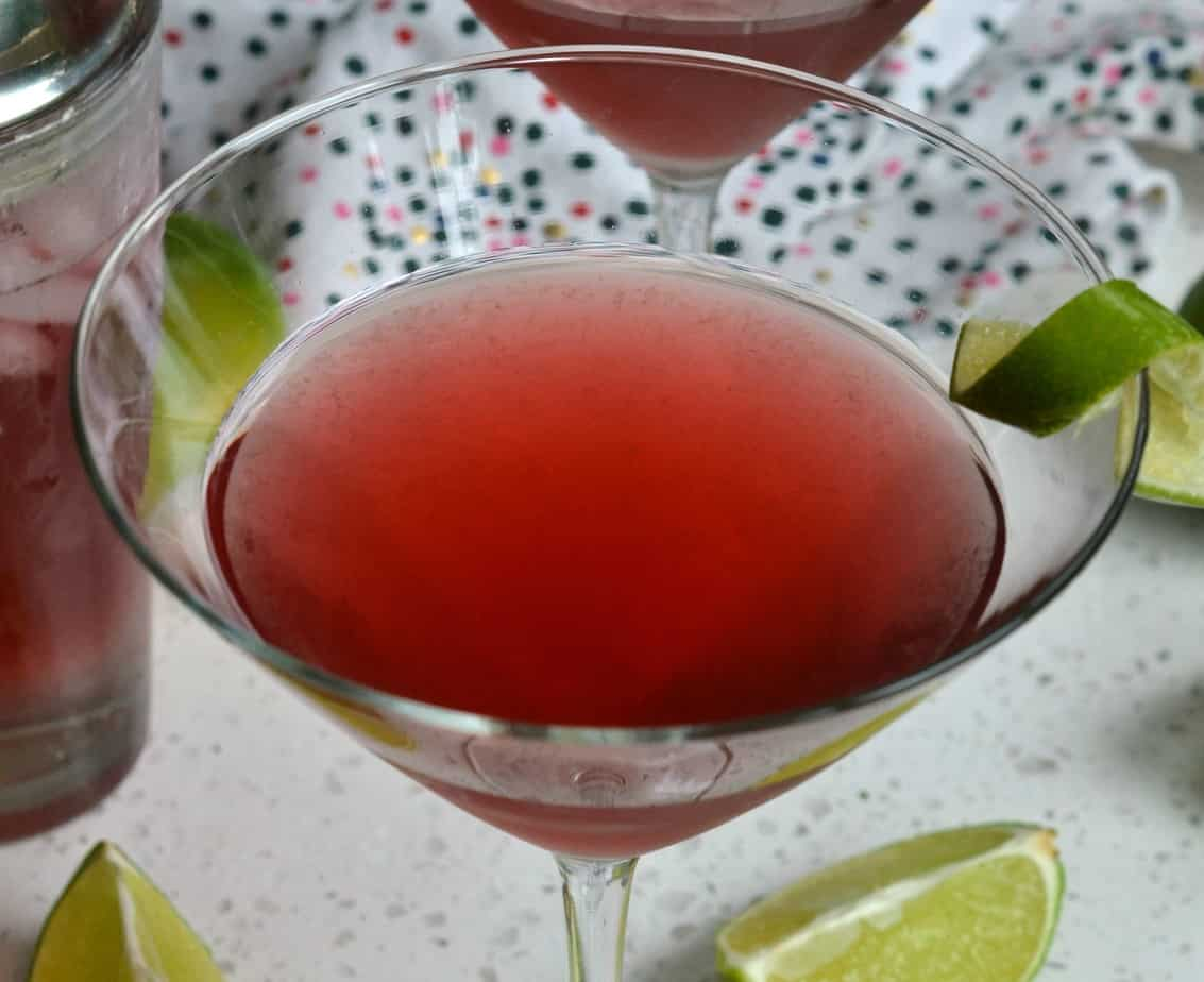 Party Worthy Cosmopolitan Drink Small Town Woman
