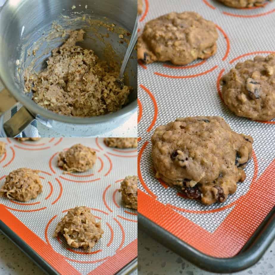 How to make Apple Cookies with Cinnamon Glaze