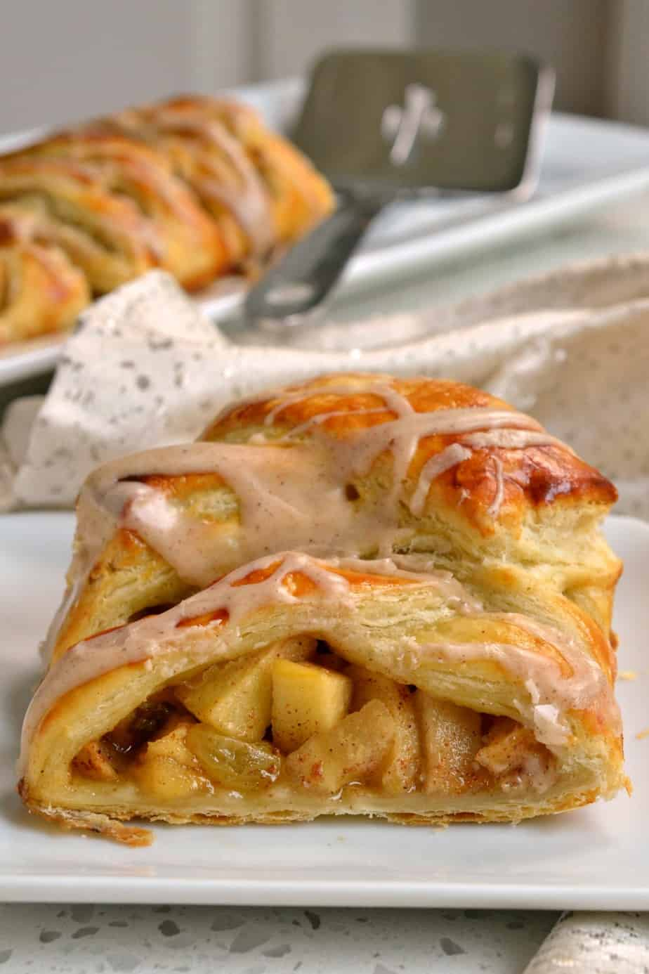 Make this gorgeous apple strudel for your next brunch, book club or evening soiree and impress your family and friends.