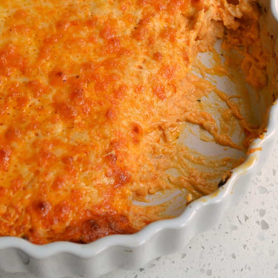 Easy Buffalo Chicken Dip is always a party favorite.