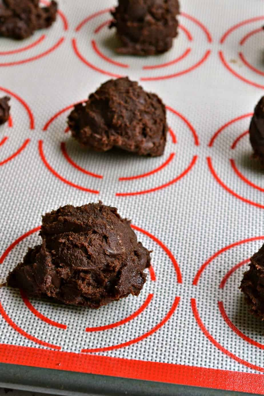 How to make Double Chocolate Chip Cookies