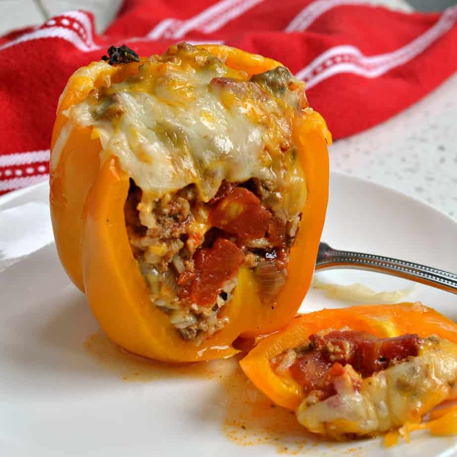 If you love the flavors of Tex Mex food than this Mexican Stuffed Peppers recipe is right up your alley.