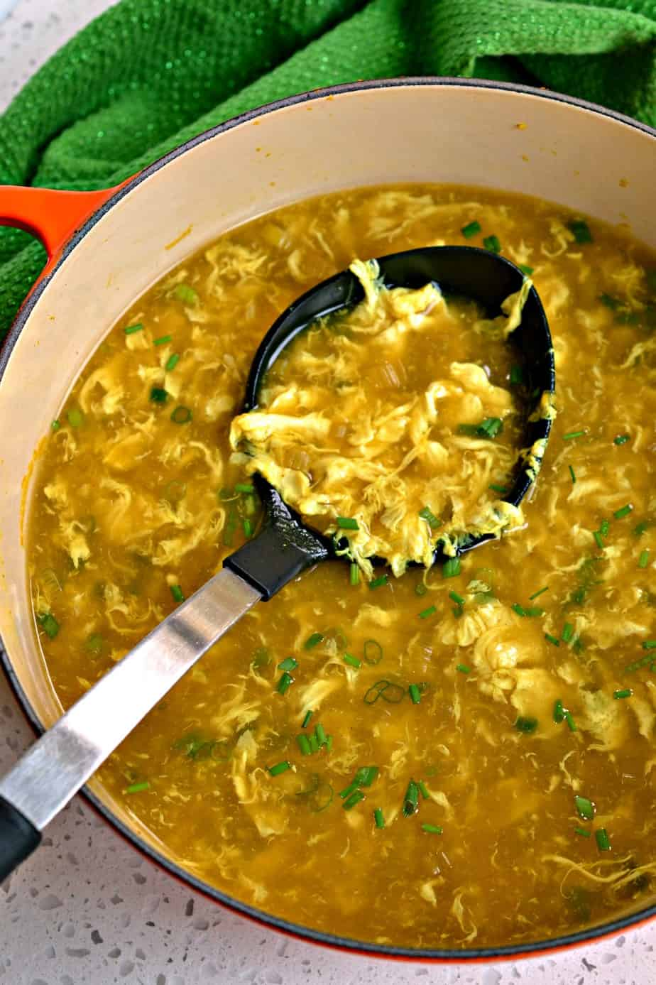 This tasty protein packed soup is better and more natural than most Chinese restaurants at a fraction of the cost.