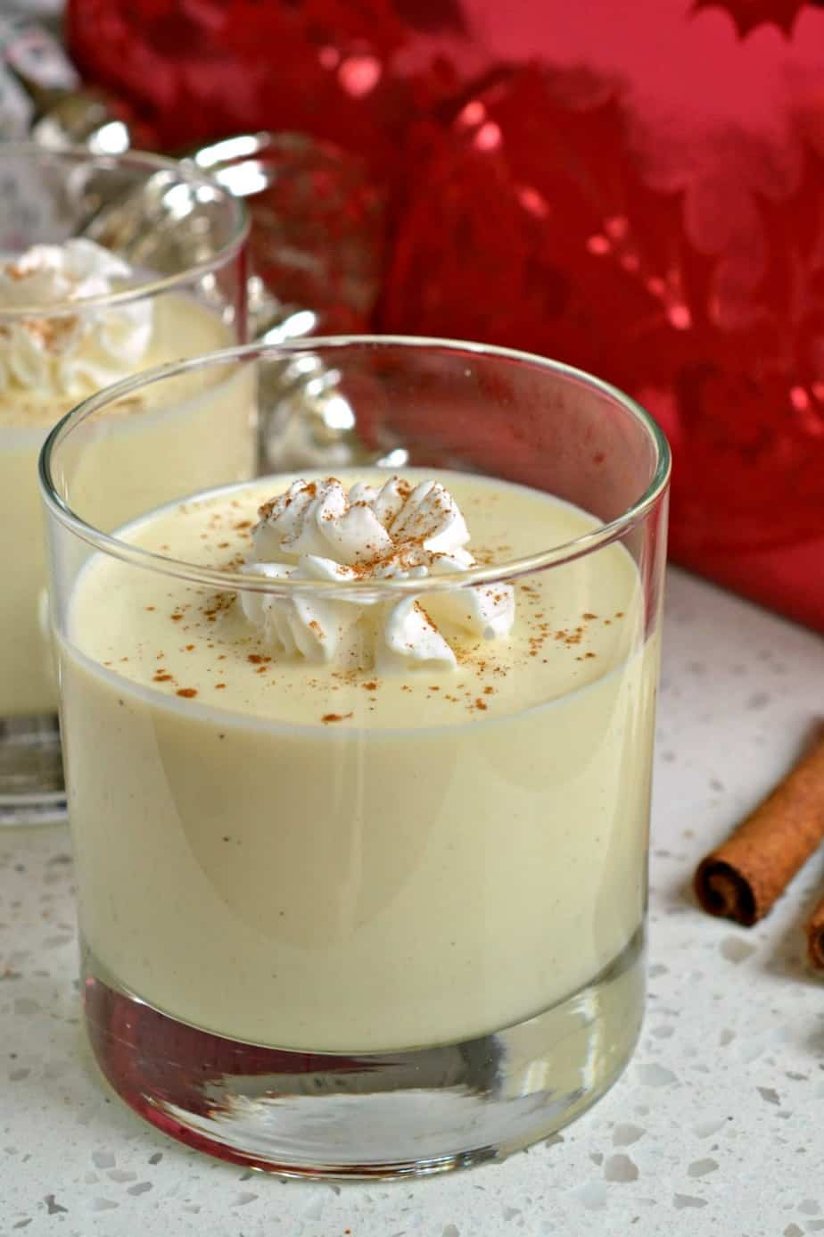 It is that time of the year again and this luscious Homemade Eggnog Recipe comes together quickly.