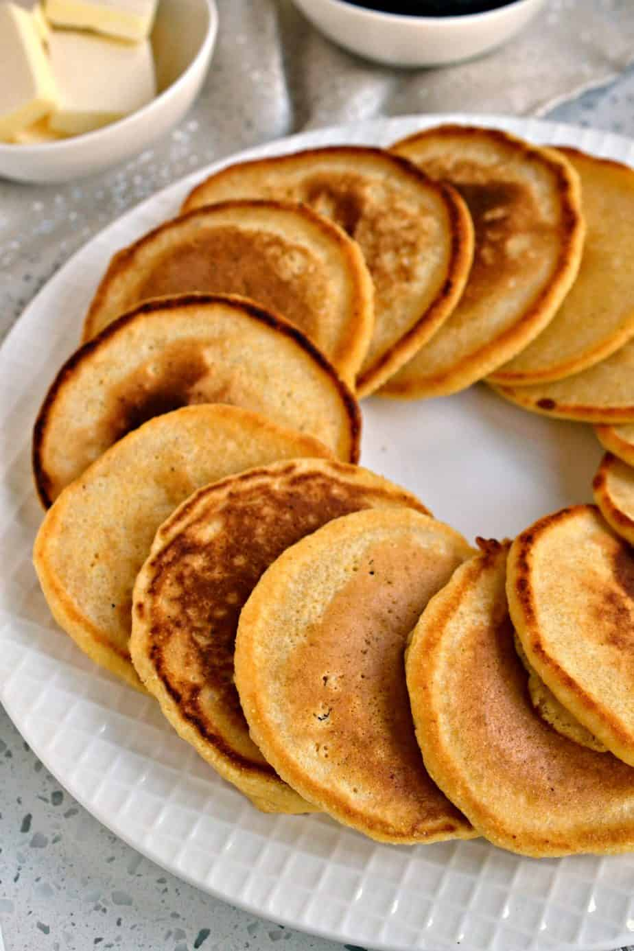 Cornbread lovers consider yourself warned because these little Johnny Cakes (also known as hoe cakes) are so tasty.
