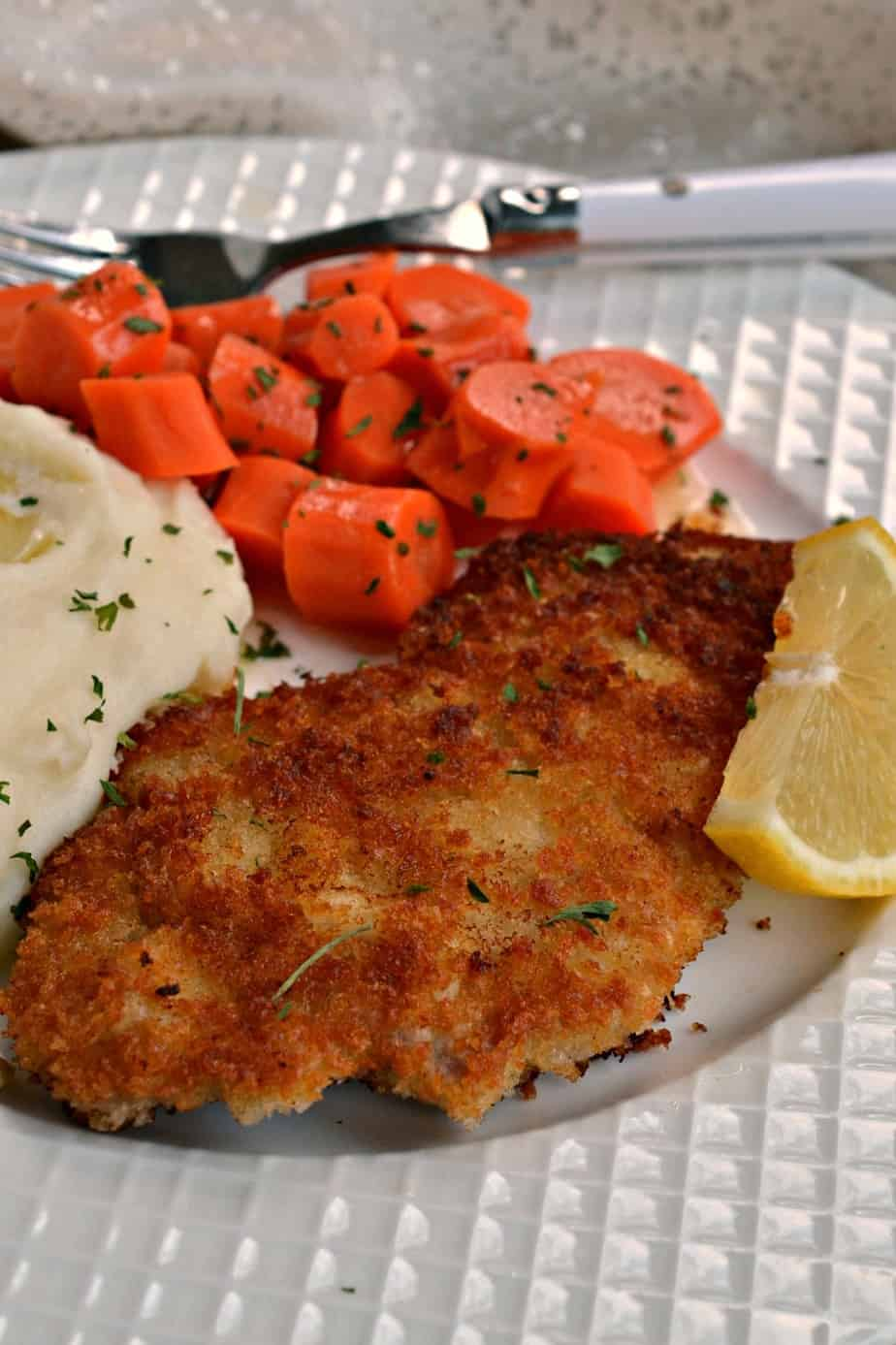 Delicious Pork Schnitzel is quick and easy to make with wholesome pantry ingredients that you may already have on hand.