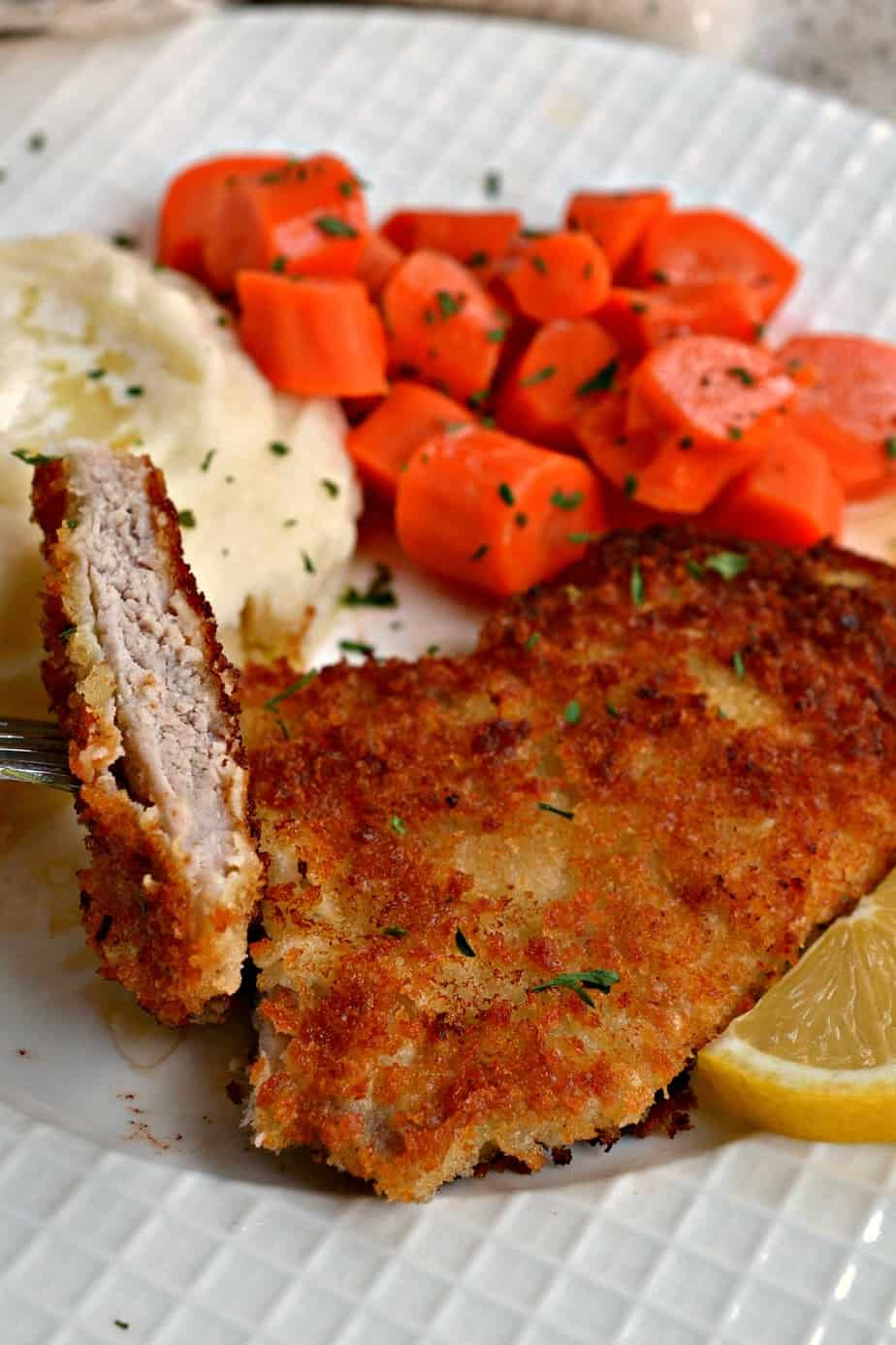 This crispy Pork Schnitzel is one of my all time favorite German dishes.