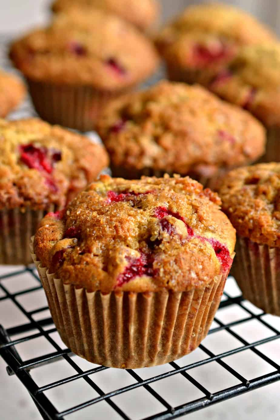 These Cranberry Orange muffins are the perfect companion for your morning coffee.