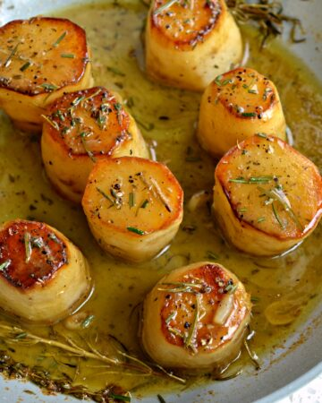 Fondant Potatoes