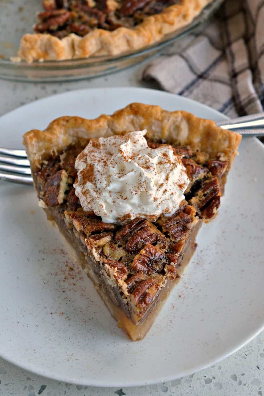 Impress your guests with this perfect Southern Pecan Pie.