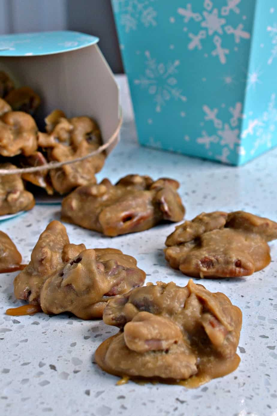 Southern Pecan Pralines are sweet brown sugar caramel like candy treasures filled with roasted pecans.