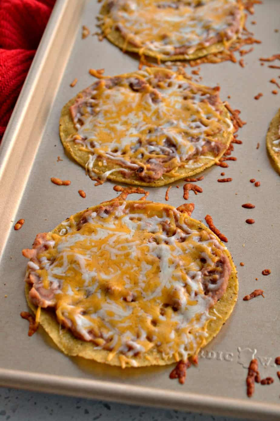 There is just no denying all the wonderful flavor in these Tex Mex chicken tostadas,.