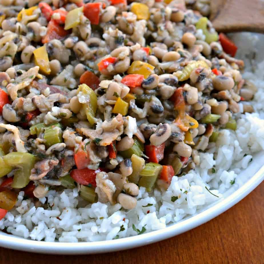 This fun and tasty Southern Hoppin' John is packed full of flavor and wholesome ingredients.