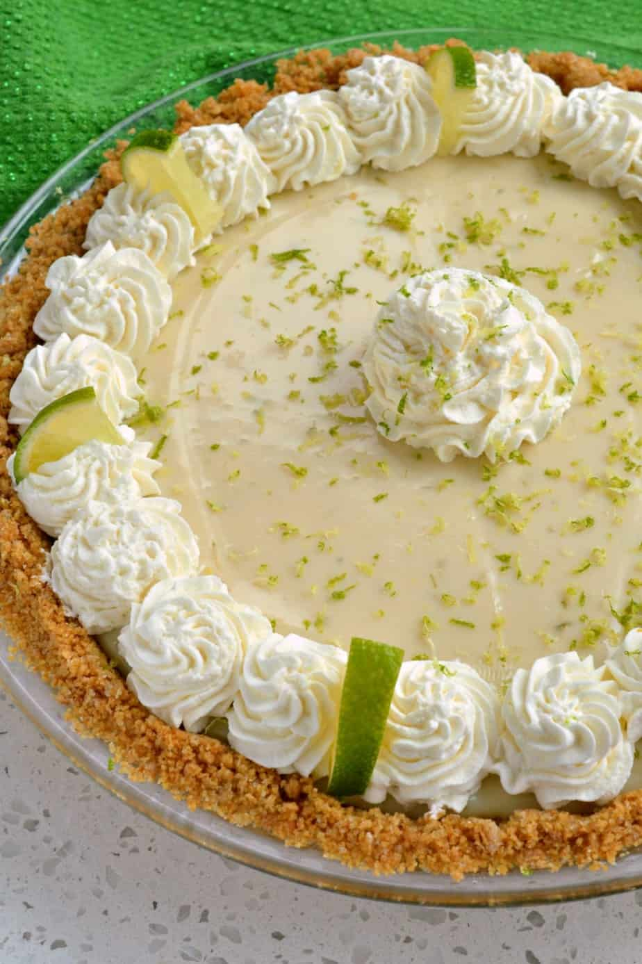 This easy key lime pie will quickly become a family favorite for birthdays, holidays and potlucks.