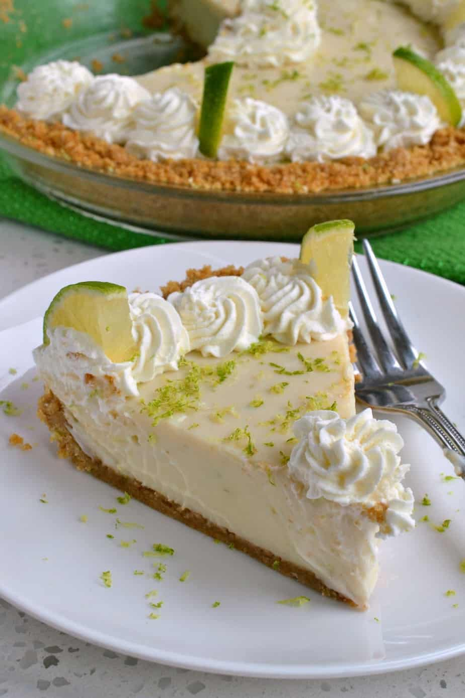 There is nothing quite as scrumptious as a fresh homemade Key Lime Pie.