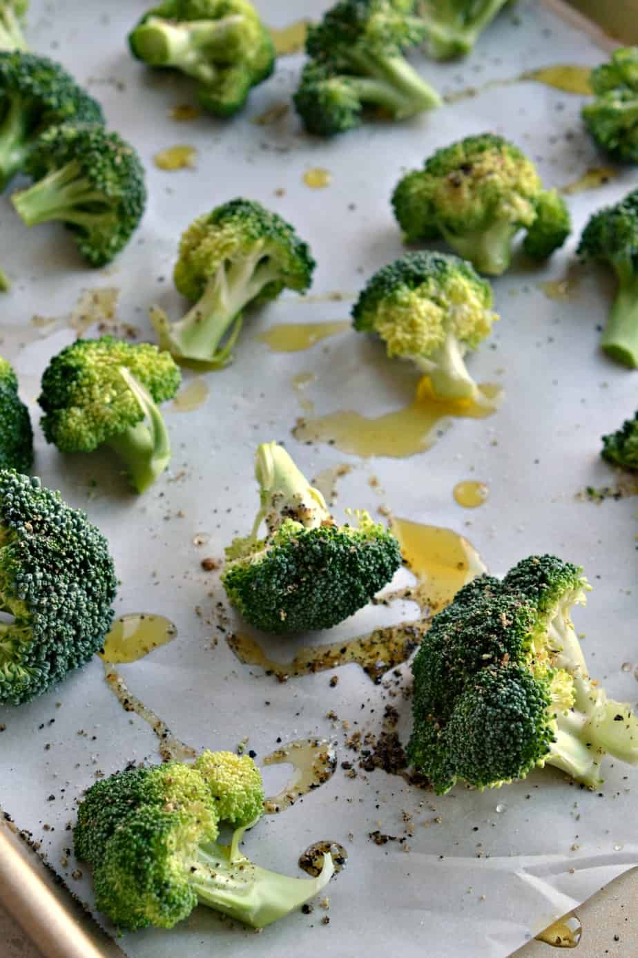 Once you try this delectable way to prepare oven roasted broccoli it will become a regular at your meal table.