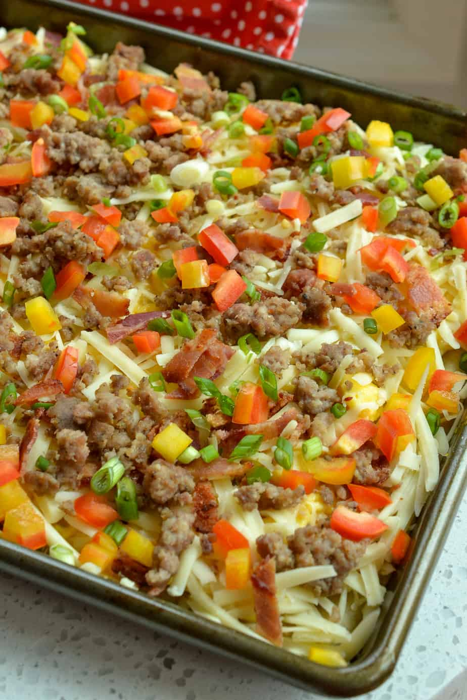 Scrumptious Breakfast Pizza is one of our all time favorite family breakfasts.