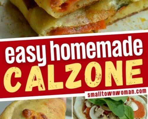Homemade Calzone