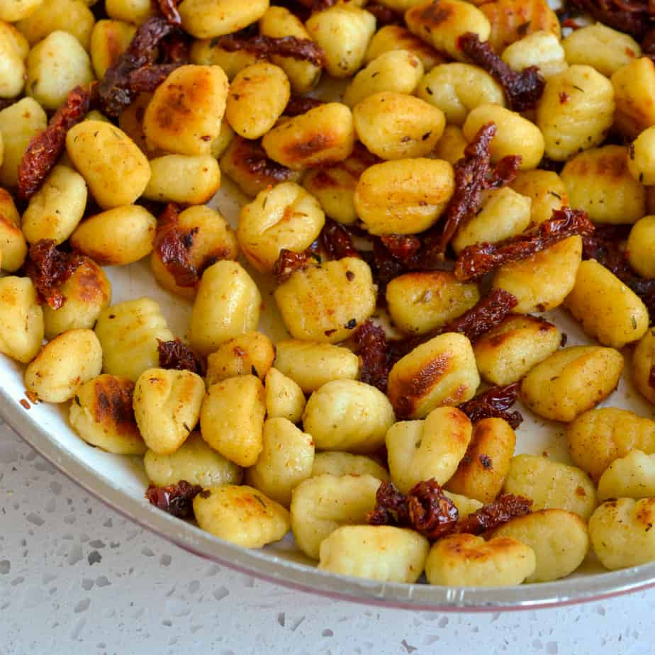This unique gnocchi pasta recipe is so easy to make that even the novice cook can handle this one.