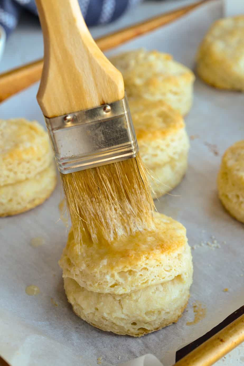 There is nothing better than warm flaky buttermilk homemade biscuits.