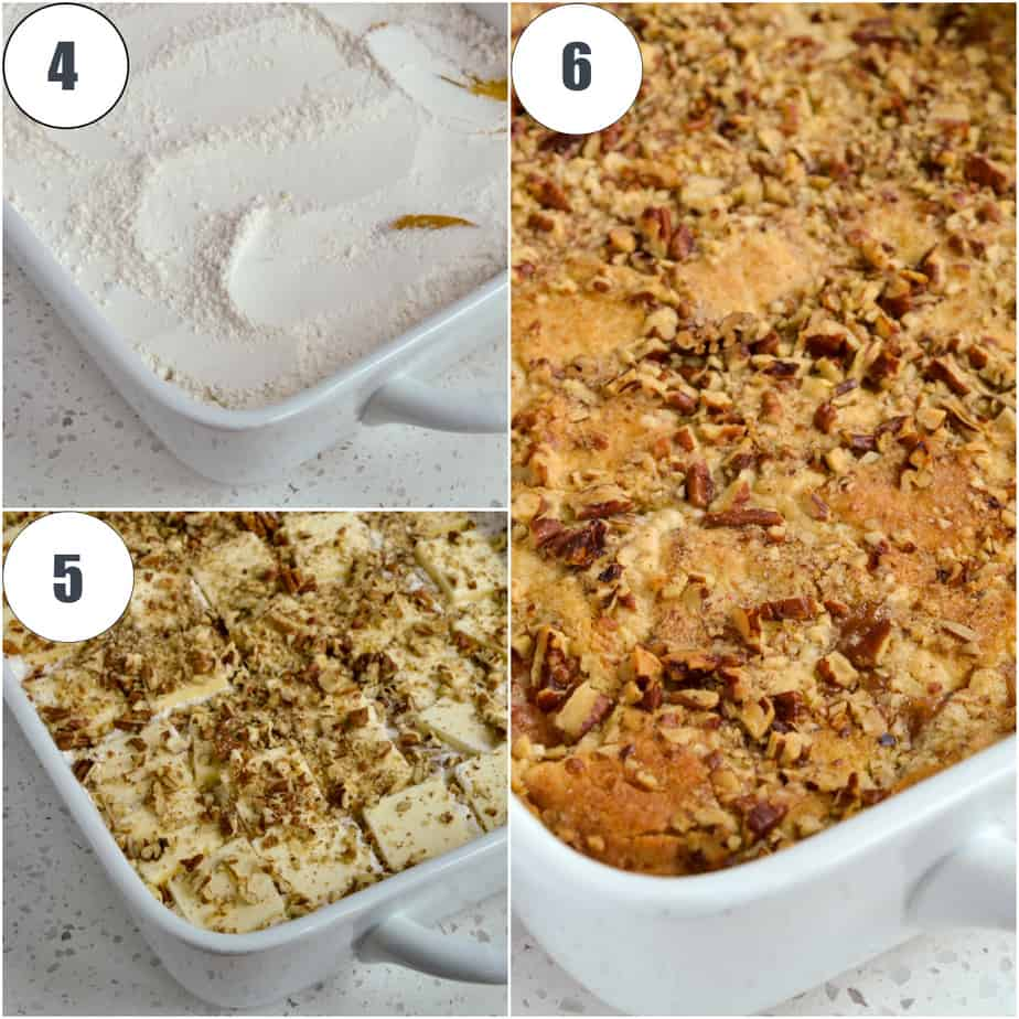 This easy to make Peach Dump Cake is in the oven in less than 15 minutes making it the perfect dessert for busy families.