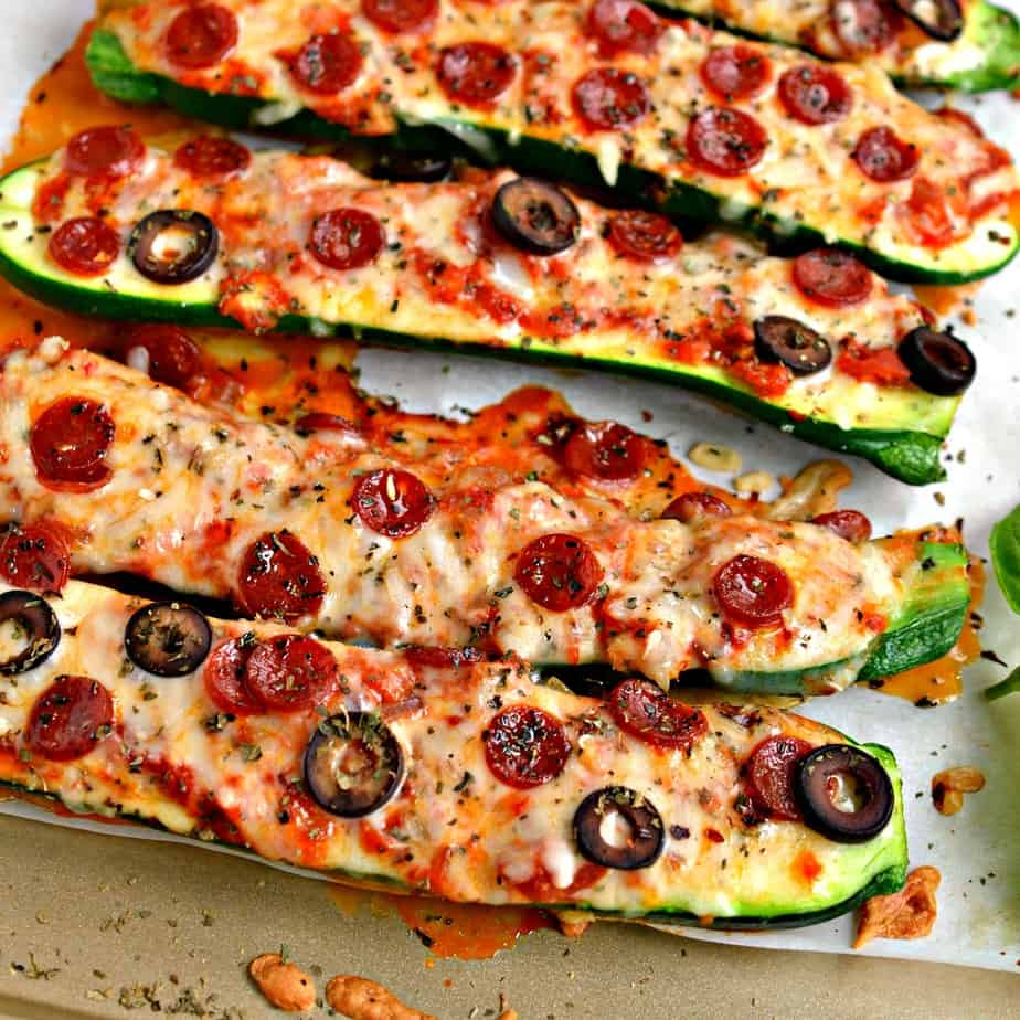 Pizza Stuffed Zucchini Boats come together quickly, are family friendly and make for quite a satisfying meal.