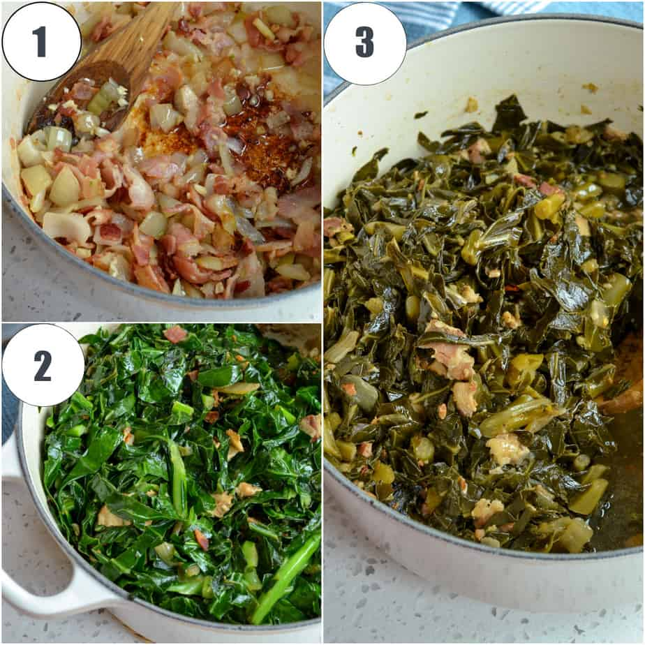 It is super easy to cook southern greens.
