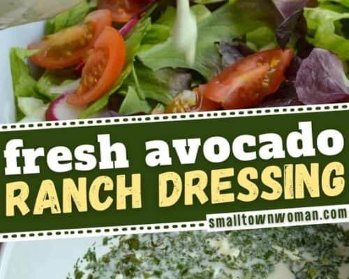 Avocado Ranch Dressing