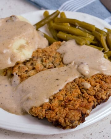 Chicken Fried Steak smothered with gravy