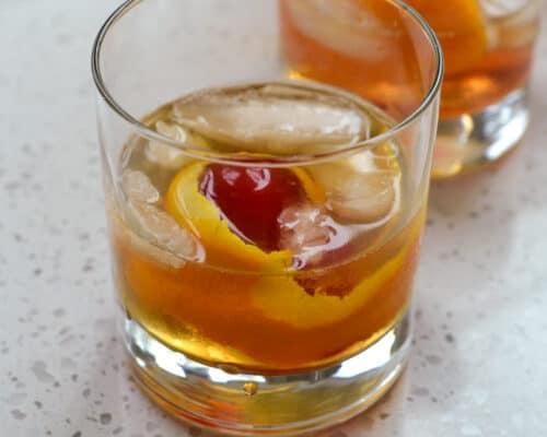 Old Fashioned Adult Beverage