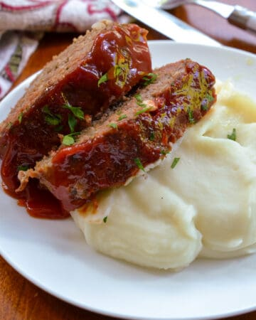 Baked Classic Meatloaf