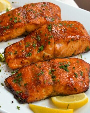 Air Fryer Salmon