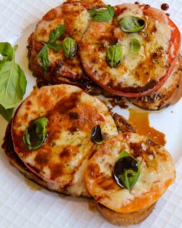 Broiled Tomato Sandwich